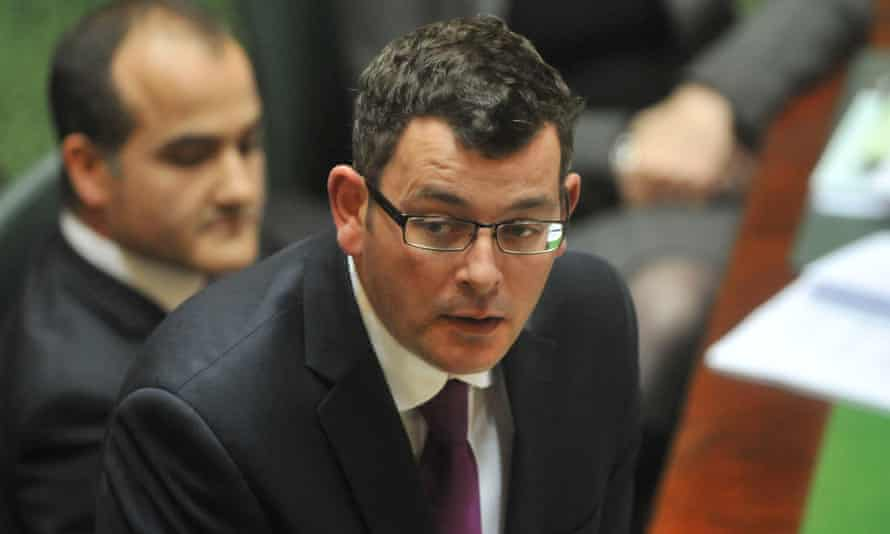 Daniel Andrews has reversed his position on the East West Link contract.