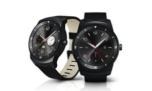 The LG G Watch R.