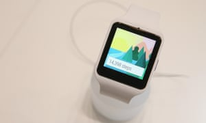 The Sony SmartWatch 3 was one of the many smartwatches unveiled at the 2014 IFA trade fair in Berlin.