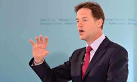 Nick Clegg calls for English devolution