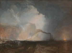 Staffa by JMW Turner