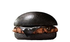 Burger King's black burger