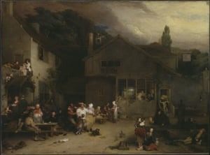 The Village Holiday (1806-11) by David Wilkie.