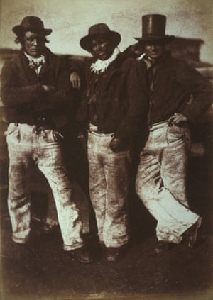 Alexander Rutherford, William Ramsay and John Liston (c 1843-1847) by Hill and Adamson