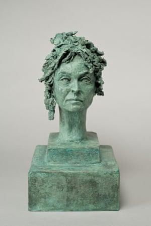 Helena bonham carter sculpture by Nicole Farhi