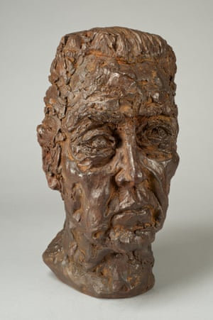 christopher walken Sculpture by Nicole Farhi