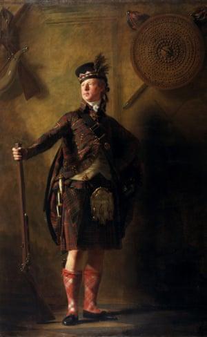 Colonel Alastair Randaldson Macdonell of Glengarry (1812) by Henry Raeburn.