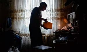 Viktor in Luhansk