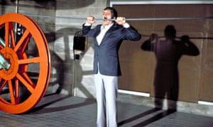 Richard Kiel in Moonraker, 1979.