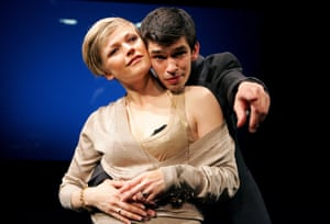 Maxine Peake and Ben Whishaw in Leaves Of Glass at Soho theatre.