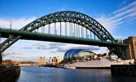 Tyne Bridge Newcastle Gateshead England. Image shot 2008. Exact date unknown.