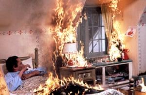 Christopher Walken in The Dead Zone (1983).