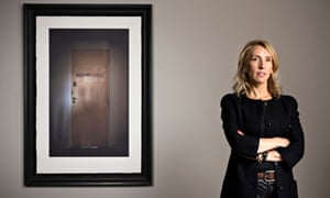 Sam Taylor-Johnson photographed at her Second Floor exhibition of Coco Chanel's Paris apartment