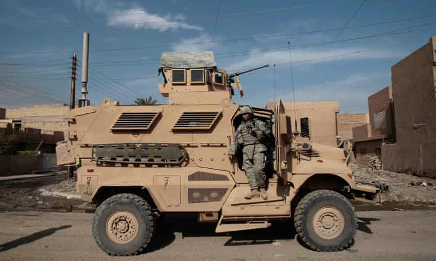 MRAPs such as this one is particular