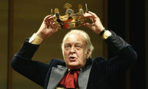 Donald Sinden in The Hollow Crown at the Royal Shakespeare Theatre.