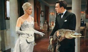 Diana Dors and Donald Sinden in An Alligator Named Daisy, 1955.