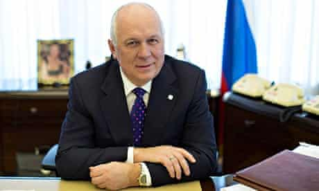Sergey Chemezov, chief executive officer of Rostec Corp
