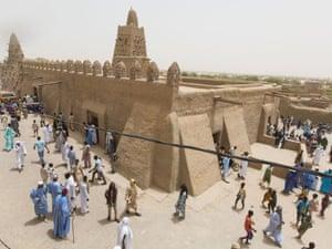 Timbuktu's clay-built Djingarei-Ber mosque.