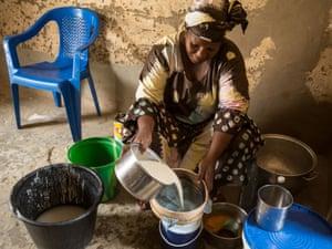 Timbuktu businesswoman Haoussa Tandina.