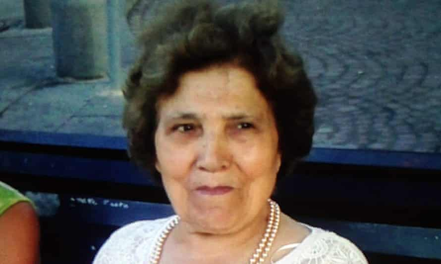 Palmira Silva, 82, who was recently murdered in her garden in north London.