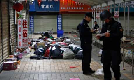 Knife attack at train station in Kunming, Yunnan province