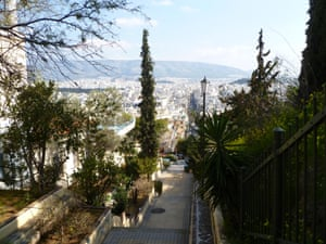 On the Way to Philopappos
