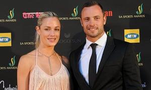 Oscar Pistorius and Reeva Stenkamp