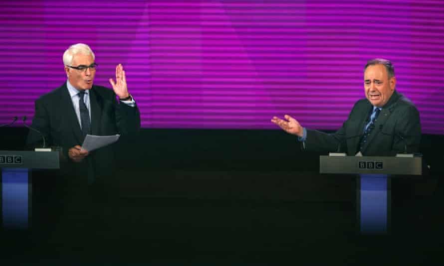 Alistair Darling and Alex Salmond debate Scottish independence