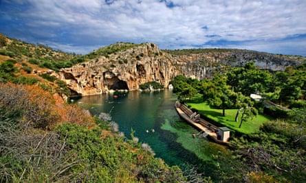 Lake Vouliagmeni, 20km from Athens