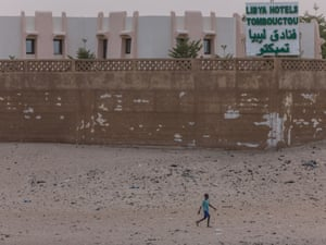 The hotel purchased by the late Colonel Gaddafi in Timbuktu.