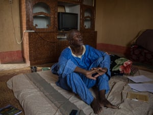 Timbuktu's local historian, Salem Ould Elhadje.