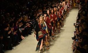 London Fashion Week Burberry