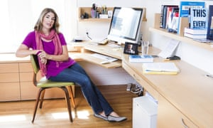 Naomi Klein in her office in Toronto.