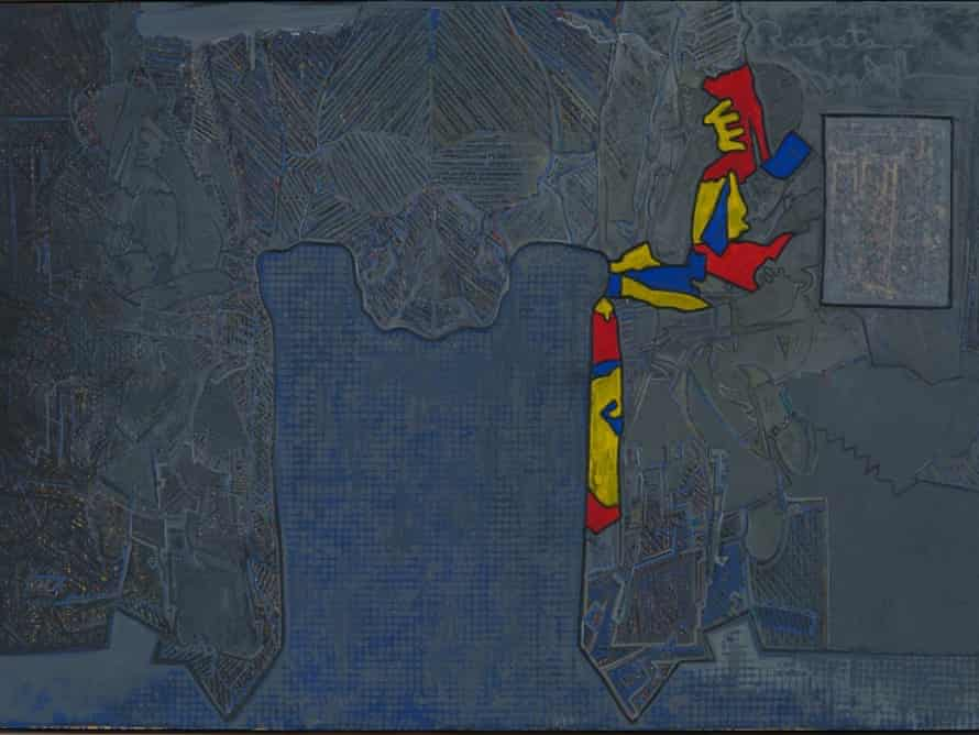 Jasper Johns, Regrets, 2013, oil on canvas, 127 x 182.9 cm