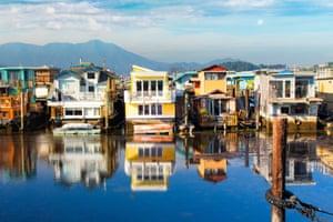 The Sausalito neighbourhood.