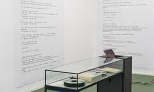 A Between Bridges room displays mastertapes, records, and a list of sounds sampled by Colourbox