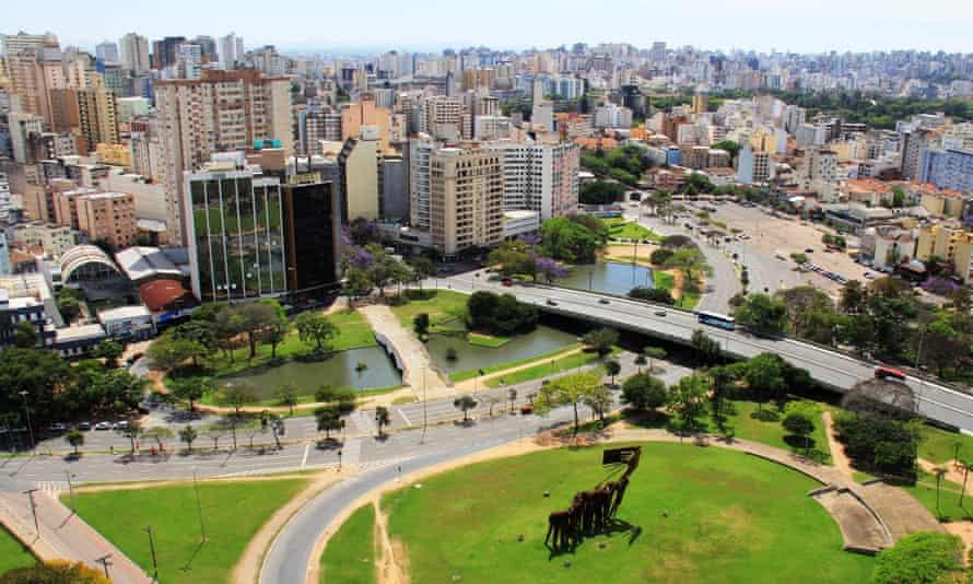 cityscape of Porto Alegre