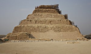Djoser Pyramid in Cairo, Egypt after conservation and restoration works.