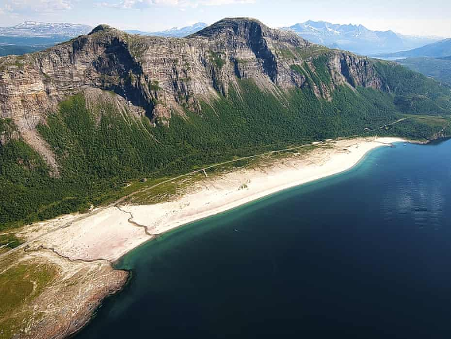 Sandhornøya, the stunning setting of the SALT festival, Norway