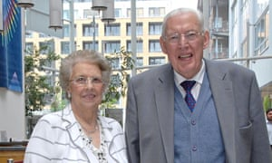 Ian and Eileen Paisley at the National College of Ireland in Dublin