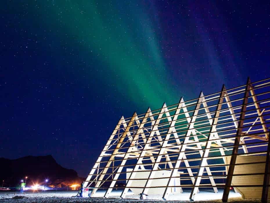 The northern lights at the SALT festival.