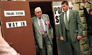 Ian Paisley Ulster vote