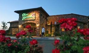 Olive Garden Restaurant in Short Pump, Virginia