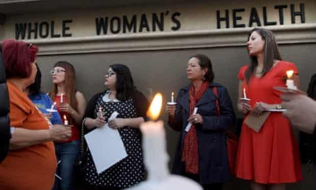Texas abortion clinic vigil