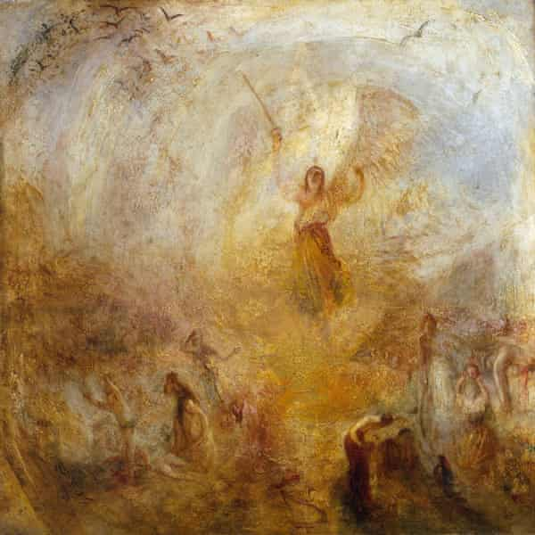 The Angel Standing in the Sun, exhibited 1846.