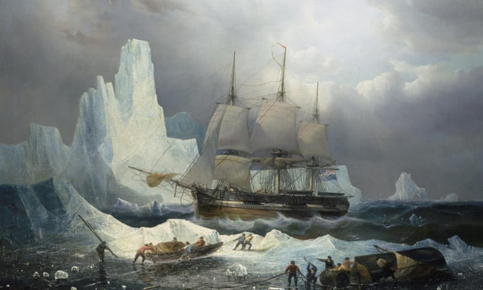 The HMS Erebus from the ill fated Franklin Expedition of 1845