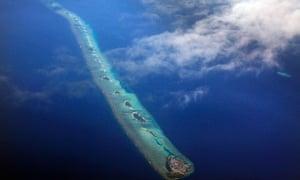 Maldives islands atolls