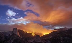 wildfire Yosemite