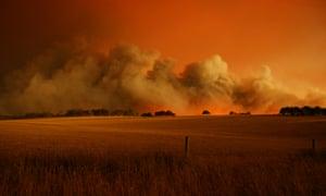 bush fires Victoria, Australia