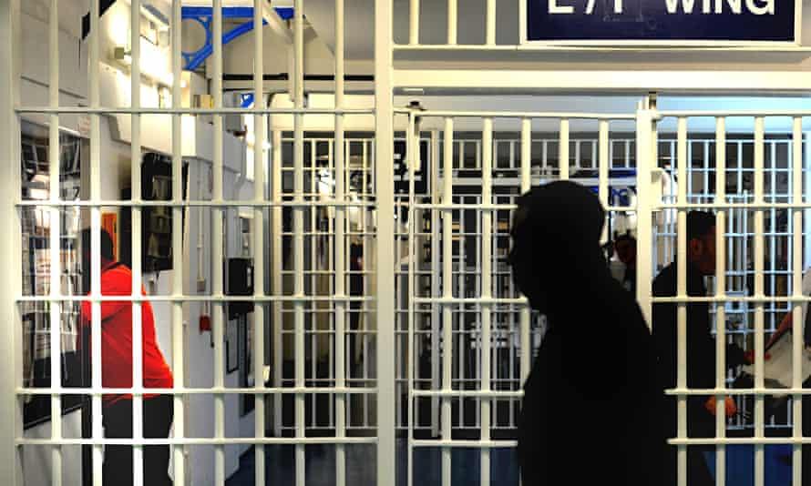 General view of a prison interior